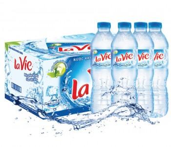 Nước khoáng thùng Lavie 350 ml Hà Nội